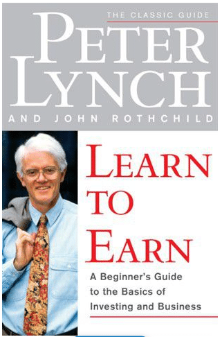 Learn to Earn by Peter Lynch, cover illustration