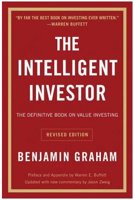 The Intelligent Investor by Benjamin Graham, cover illustration