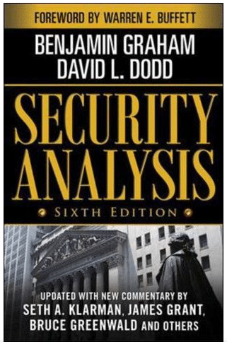 Security Analysis by Benjamin Graham,cover illustration