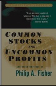 Common Stocks and Uncommon Profits Philip Fisher, cover illustration