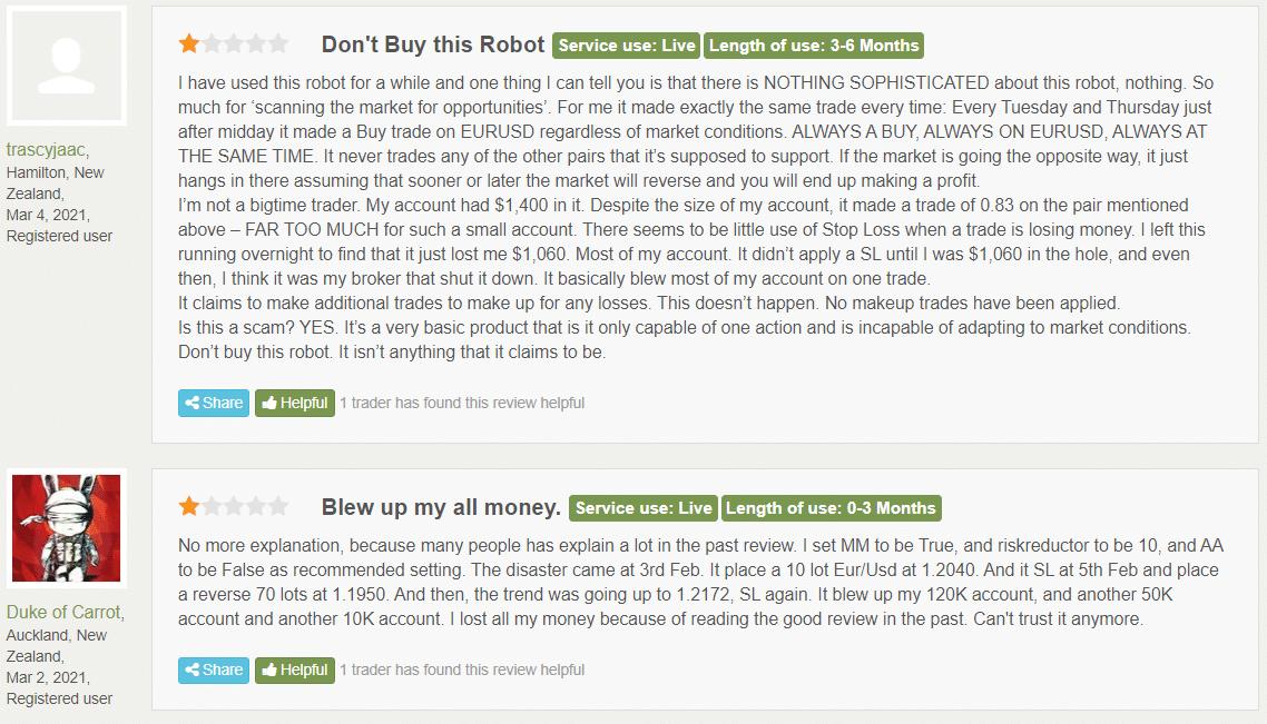 People reviews