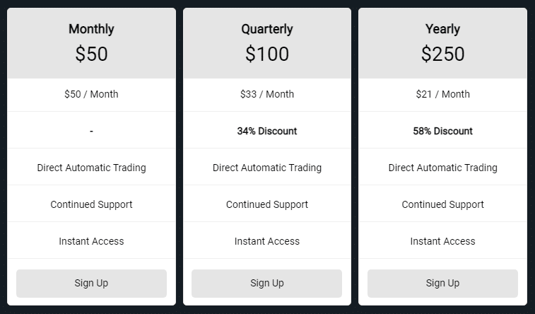 Tip Toe Hippo's pricing details