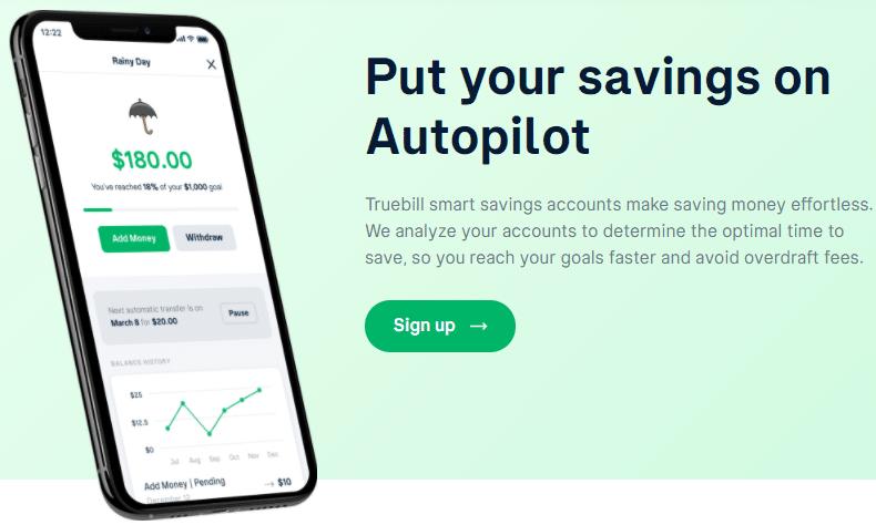text: Put your savings on Autopilot