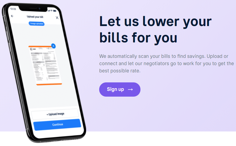 text: Let us lower your bills for you